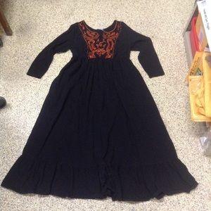 Eshakti embroidered maxi dress plus size 20W